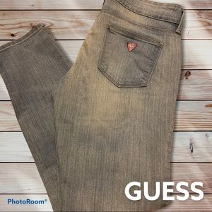 Guess Jeans Emma (Medium Rise Ankle Skinny) 28